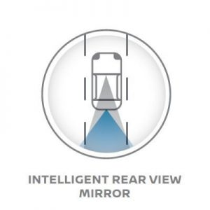 Intelligent-rear-view-mirror-nissan-terra