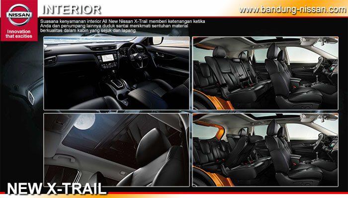 Interior Nissan New X-Trail 2019