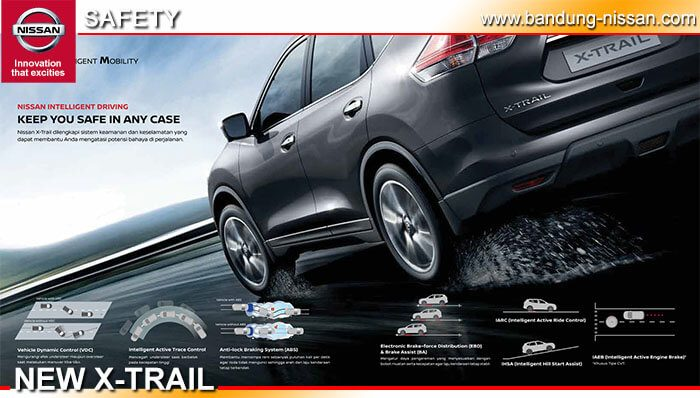 Safety Nissan New X-Trail