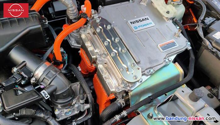 Tampilan mesin All-new Nissan Kicks e-POWER