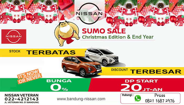 Promo Akhir Tahun Nissan Bandung 2020